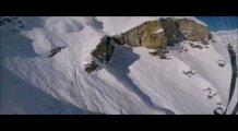 Kayak Yaparken Çığa Neden Olan Adam