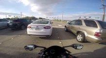 Motorcunun Ucuz Kurtulduğu Kaza