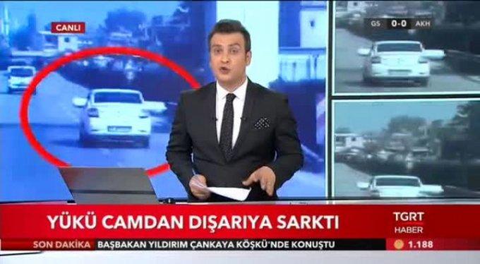 Bursa'da korku dolu anlar!