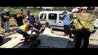 Kazada devrilen aracının altında can verdi