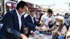 Osmangazi Belediyesi aşure ikramları devam ediyor